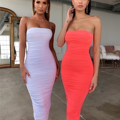 Ruched-Strappy-Bodycon-Long-Dress-K442-12