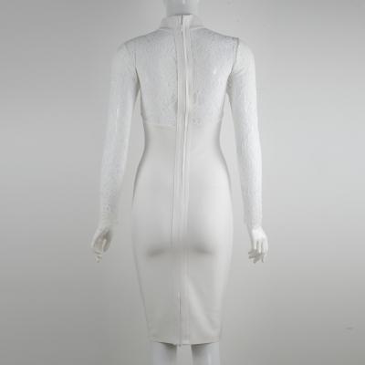 Long-Sleeve-Lace-Bandage-Dress-K566-20