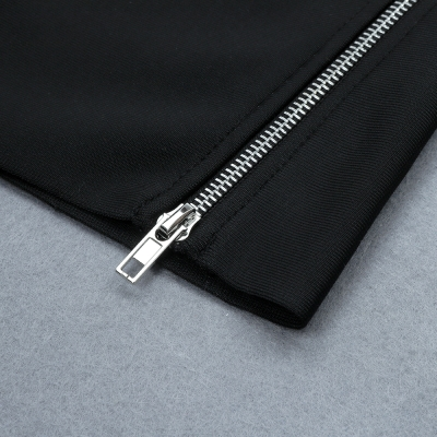 Zipper-Split-Bandage-Dress-K733-4