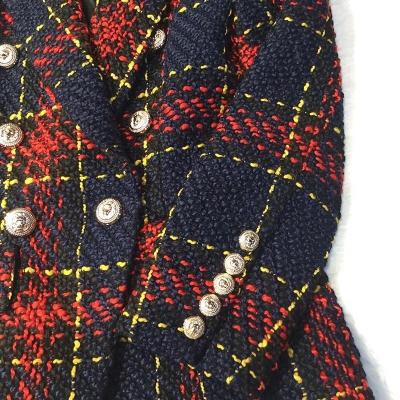 Plaid-Ladies-Suit-K623-4