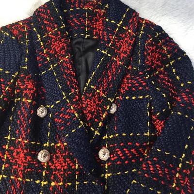 Plaid-Ladies-Suit-K623-6