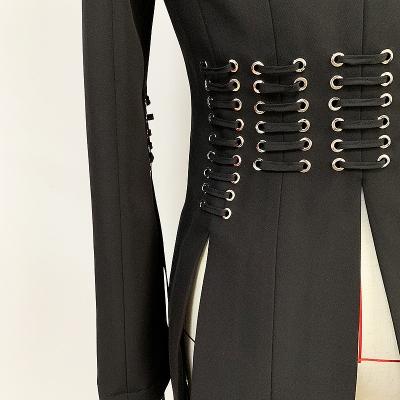 Slit-Sleeve-Ribbon-Blazer-K689-2