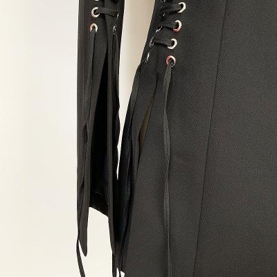 Slit-Sleeve-Ribbon-Blazer-K689-4