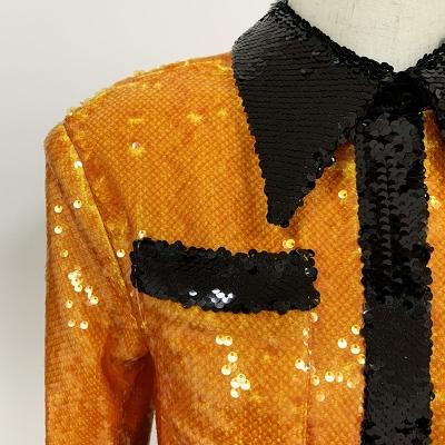 Sequins-Blazer-Dress-K706-5