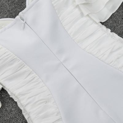 Flounced-Off-Shoulder-Bandage-Dress-K95323