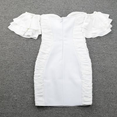 Flounced-Off-Shoulder-Bandage-Dress-K95337