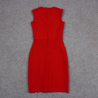 Sleeveless-Deep-V-Bandage-Dress-K1017-24