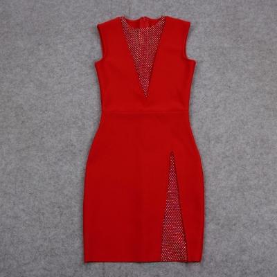 Sleeveless-Deep-V-Bandage-Dress-K1017-27