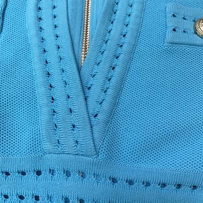 Deep-V-Knit-Dress-K1027-5