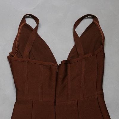 Deep-V-Strap-Bandage-Dress-K1081-8