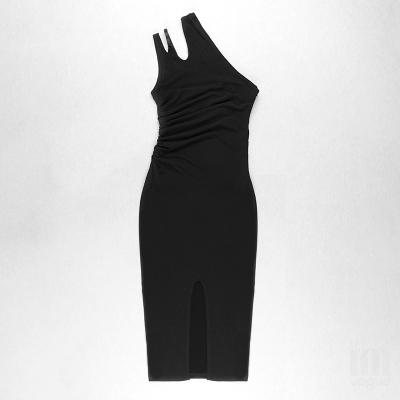 One-Shoulder-Hollow-Out-Bandage-Dress-K1103-2