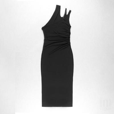 One-Shoulder-Hollow-Out-Bandage-Dress-K1103-3