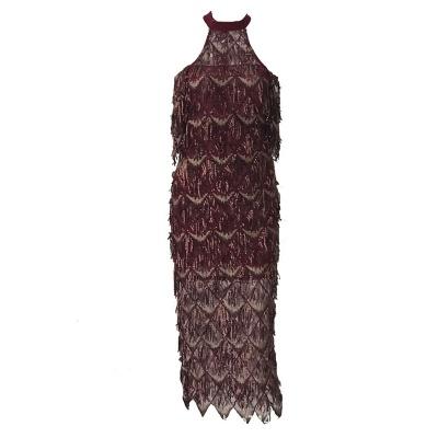 Mesh Sequin Off The Shoulder Dress K239 (10)