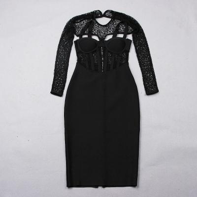 Lace-Hollow-Out-Bandage-Dress-B1203-9