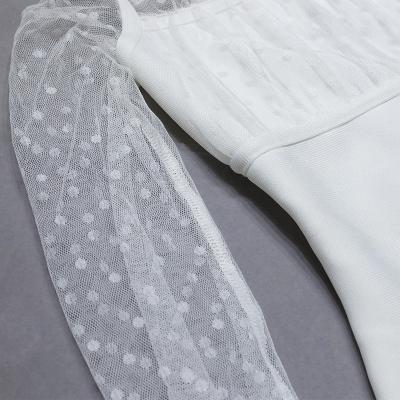 Mesh-Long-Sleeve-Bandage-Dress-B1213-1