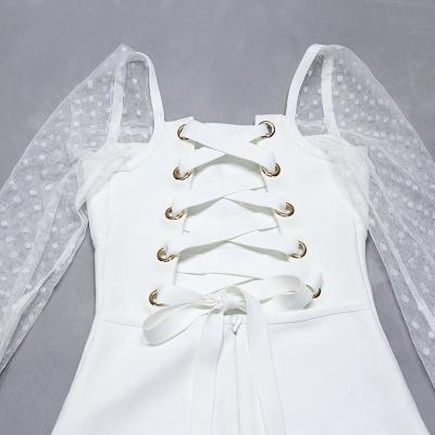 Mesh-Long-Sleeve-Bandage-Dress-B1213-6
