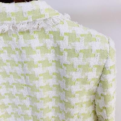 Plaid-Ladies-Suit-D008-1