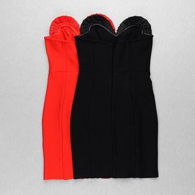 Flower-Type-Bandage-Dress-K100534