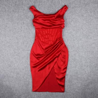 One-Shoulder-Wrinkle-Dress-K1015-39