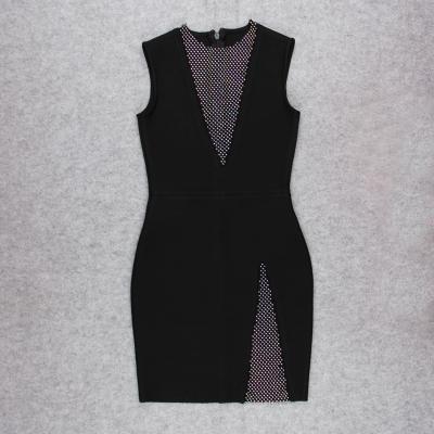 Sleeveless-Deep-V-Bandage-Dress-K1017-10