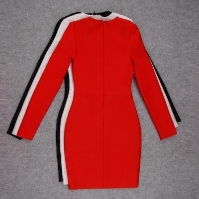 Long-Sleeve-Deep-V-Bandage-Dress-K1018-40