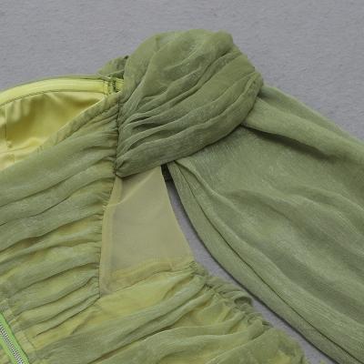 Off-Shoulder-Mesh-Ruched-Bandage-Dress-K1040-35