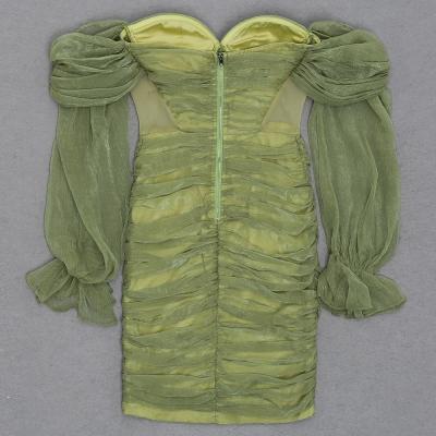 Off-Shoulder-Mesh-Ruched-Bandage-Dress-K1040-37