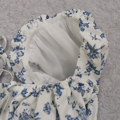 Puff-Sleeve-Floral-Blouse-K1044-17_副本