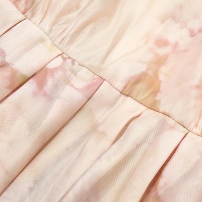 Long-Sleeve-Printed-Dress-﹠Gauze-Waist-Sealing-Set-K1052-9