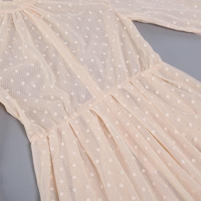 Long-Sleeve-Mesh-Dress-﹠-Lace-Waist-Sealing-Set-K1053-16