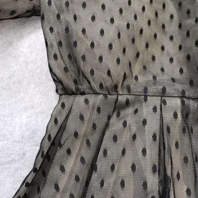 Long-Sleeve-Mesh-Dress-﹠-Lace-Waist-Sealing-Set-K1053-35_副本
