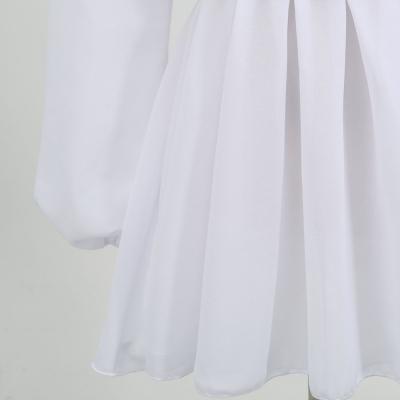 Long-Sleeve-Mesh-Dress-﹠-Gauze-Waist-Sealing-Set-K1054-25_副本