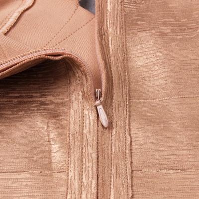 Hollow-Out-Halter-Metallic-Bandage-Dress-K1071-3