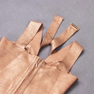 Hollow-Out-Halter-Metallic-Bandage-Dress-K1071-4