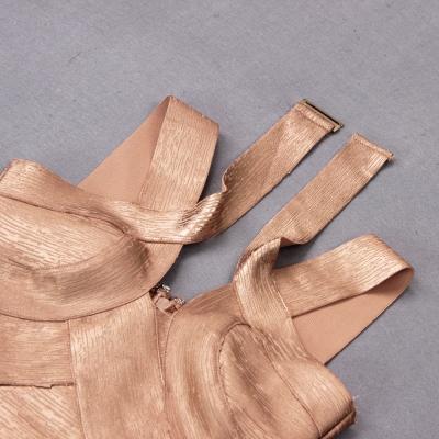 Hollow-Out-Halter-Metallic-Bandage-Dress-K1071-7