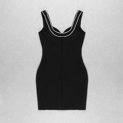Rhinestone-V-Neck-Strap-Bodycon-Dress-K1074-1