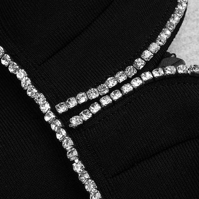 Rhinestone-V-Neck-Strap-Bodycon-Dress-K1074-2