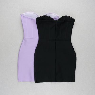 Strapless-Ruched-Bandage-Dress-K1077-34