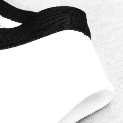 White-And-Black-Sleeveless-Bandage-Dress-K1102-6