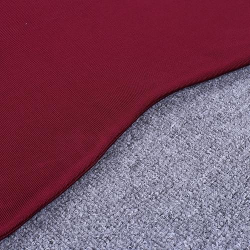 Wine Red Strap Girdling Bandage Dress K215(9)
