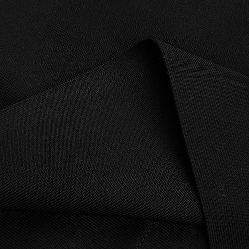 Halter Neck Strap White Area  Chest Bandage Dress K222  (18)