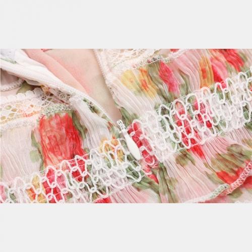 Floral Designs Lace Ruffle 2 Piece Set K263 (5)