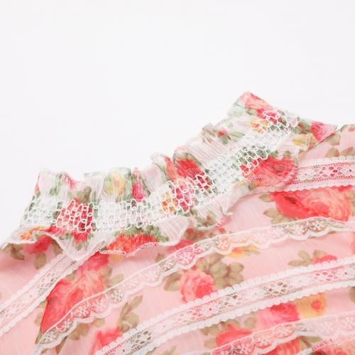 Floral Designs Lace Ruffle 2 Piece Set K263 (8)