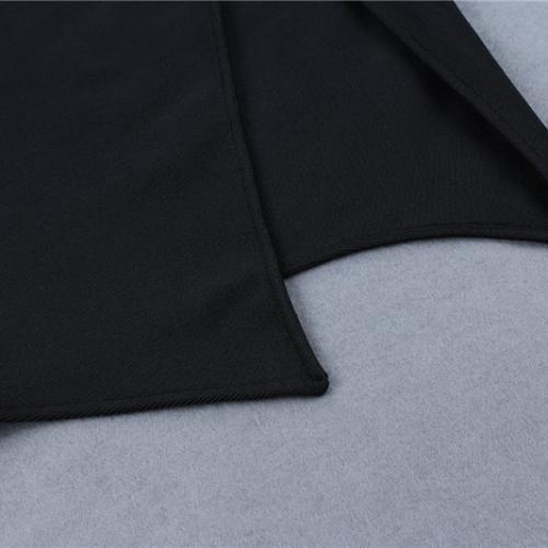 FOLD THE SLEEVE ONE SHOULDER BANDAE DRESS K295 (2)