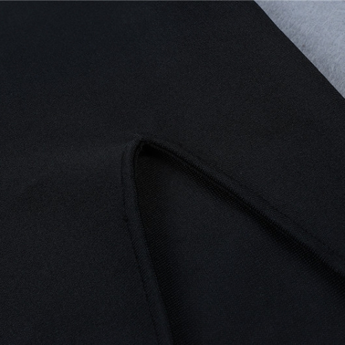 FOLD THE SLEEVE ONE SHOULDER BANDAE DRESS K295 (7)