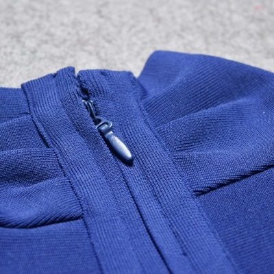 Deep-V-Long-Sleeve-Bandage-Dress-K319-5