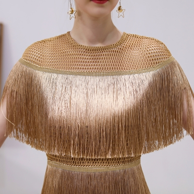 Tassel-Mesh-Mini-Dress-K349-22