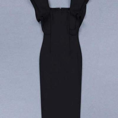 The-butterfly-Sleeves-Bandage-Dress-K483-4