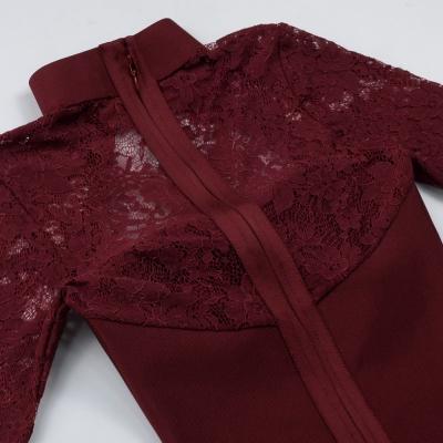 Long-Sleeve-Lace-Bandage-Dress-K566-17