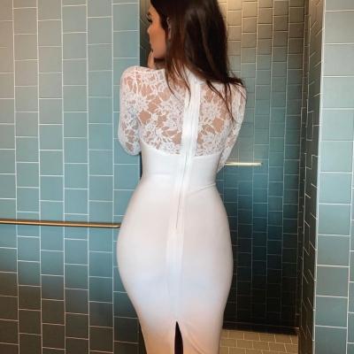 Long-Sleeve-Lace-Bandage-Dress-K566-22